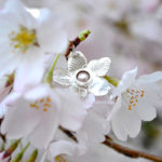 Garden of the East – Large Cherry Blossom Necklace