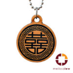 Double Happiness - Scroll Medallion