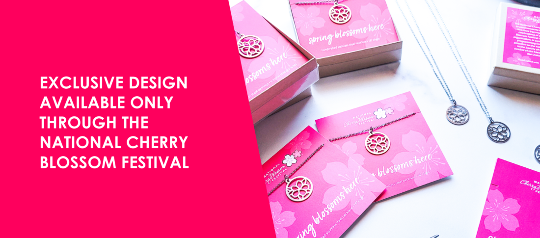 Exclusive design available only through the National Cherry Blossom Festival